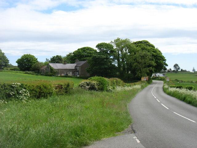 Entering Llansadwrn