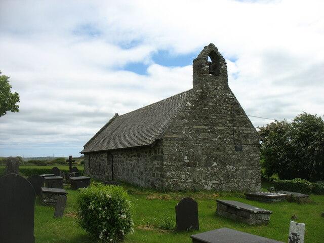 The church of St Pabo at Llanbabo