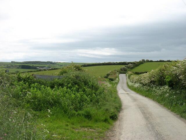 The lane to Llantrisant