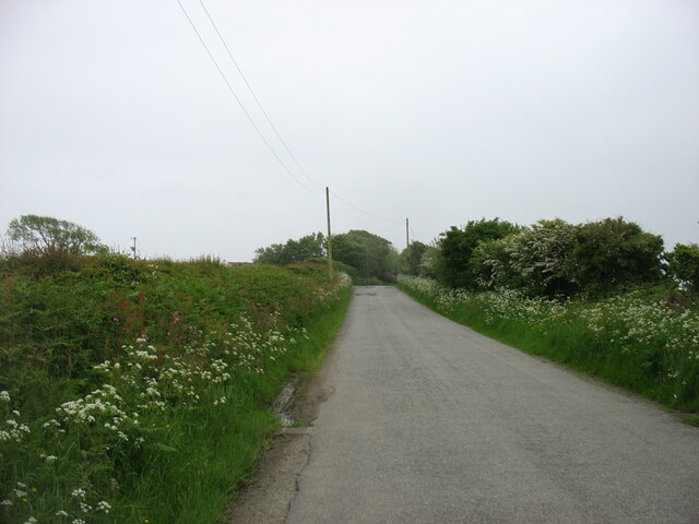 The road to Trefor