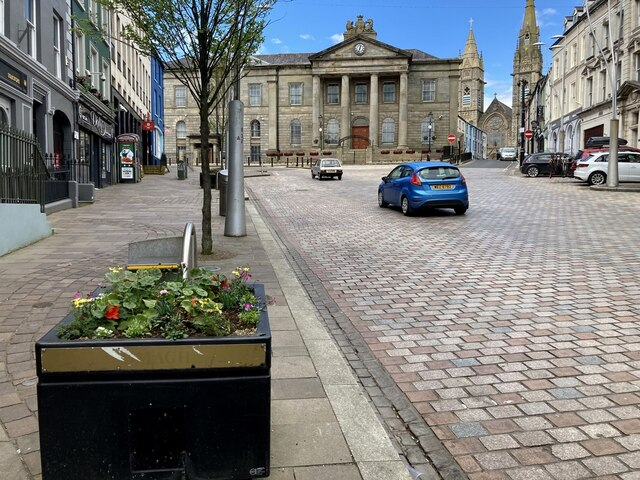 Courthouse Brae, High Street, Omagh