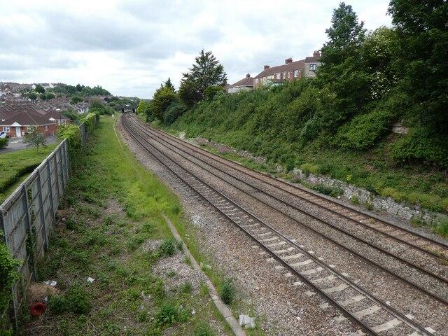 Main line to Taunton