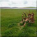 HY3128 : Abandoned farming equipment by Mick Garratt