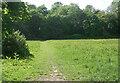SS8979 : Path across green space in Bridgend by eswales