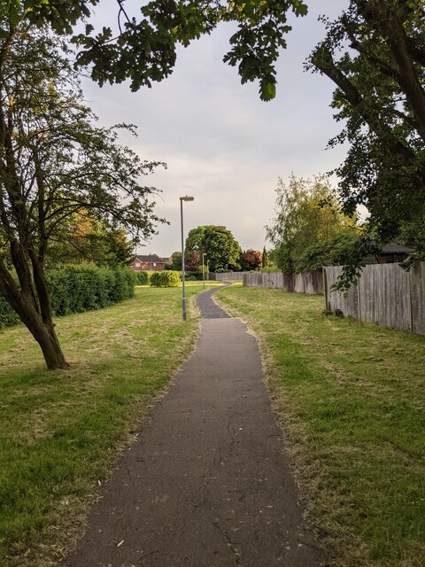 The footpath