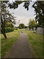 TF0820 : The footpath by Bob Harvey