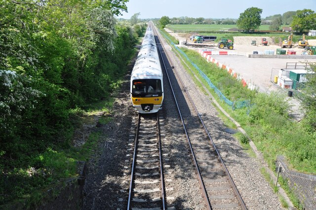 Chiltern Railways Class 165 No. 165035 near Piddington