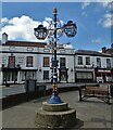 SK7371 : Intricate lamppost  in Tuxford town centre by Neil Theasby