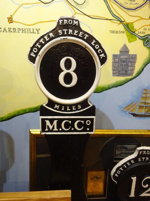 Milestone 8, Fourteen Locks Canal Centre