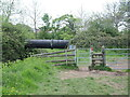 ST4463 : A big pipe over the Yeo by Neil Owen