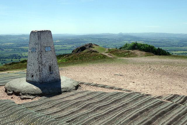 The summit of the Wrekin