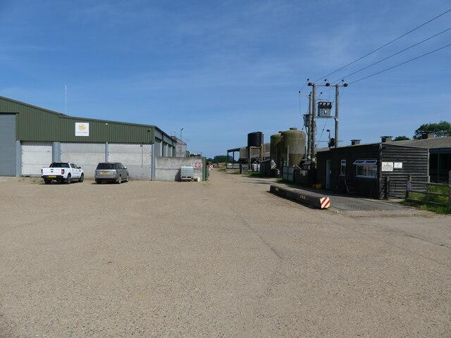 Farmyard with livestock Buildings