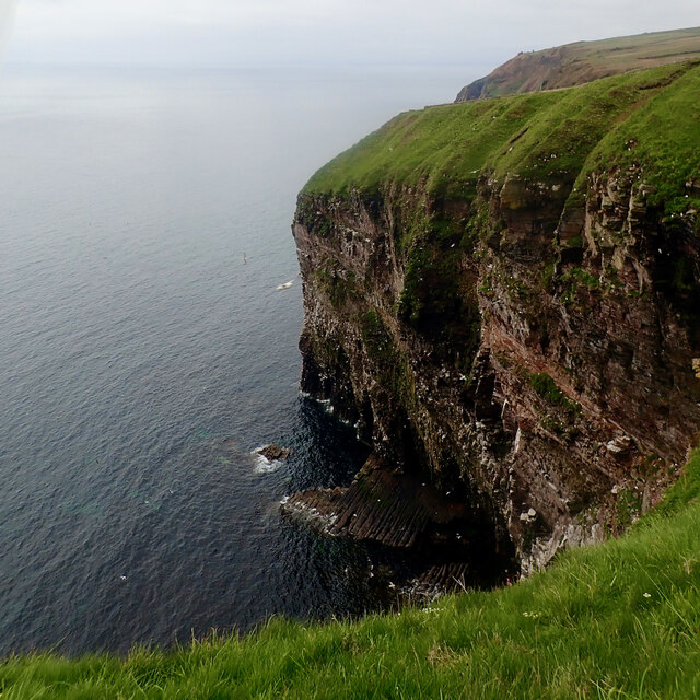 Headland near Stùrr Ruadh