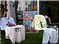 SP3165 : Ethiopian church stall, Leamington Peace Festival by Alan Paxton