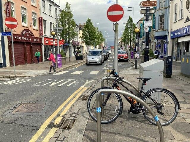 Bike stand, Omagh
