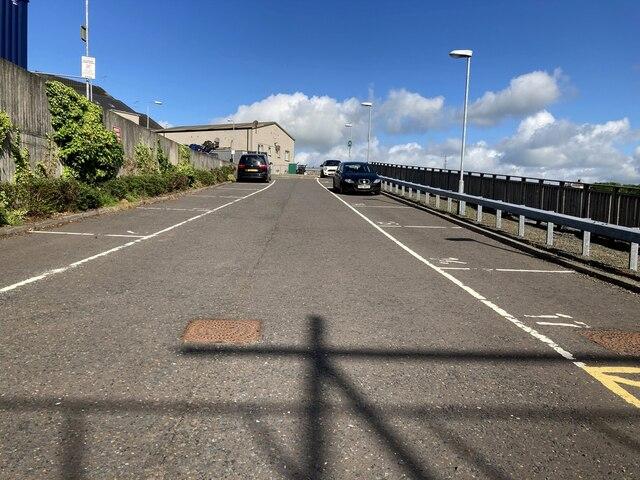 Car park, Omagh