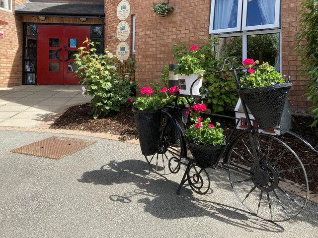 Entrance, McCauley House, Omagh