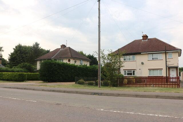 Houses on Thrapston Road, Brampton