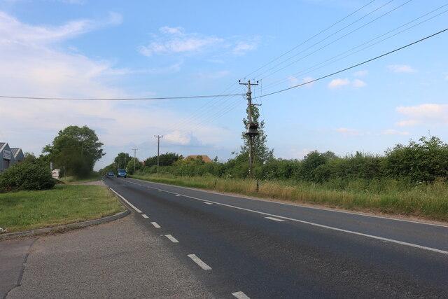 Somersham Road leaving St Ives