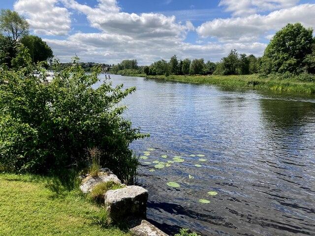 River Erne at Enniskillen