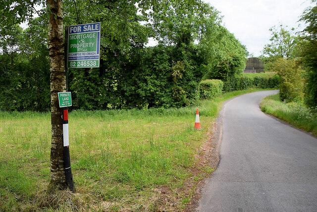 A bend along Letfern Road