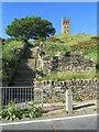 SE1513 : Steps on Castle Hill, near Huddersfield by Malc McDonald