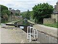 SE0814 : Canal lock at Slaithwaite by Malc McDonald