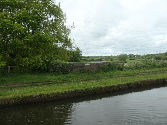 North parapet, Bollington Underbridge [no 26A]