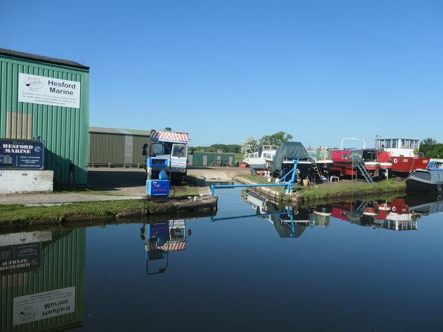 Hesford Marine, Bridgewater canal
