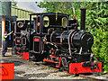 SK2406 : Statfold Barn Railway - preparing for the day ahead by Chris Hodrien