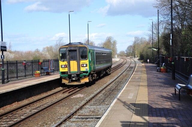 Train at Millbrook Station