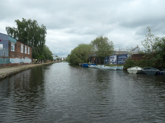Moored boats, Trafford [South] Sea Scouts