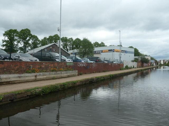 Towpath, Bridgewater canal, Broadheath