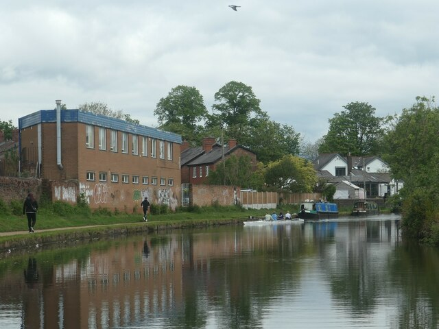 Canal users in Sale