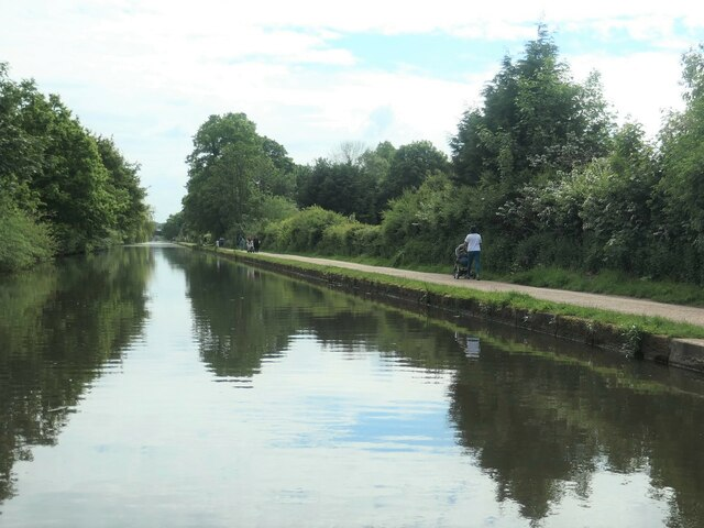 Canal towpath users, Timperley