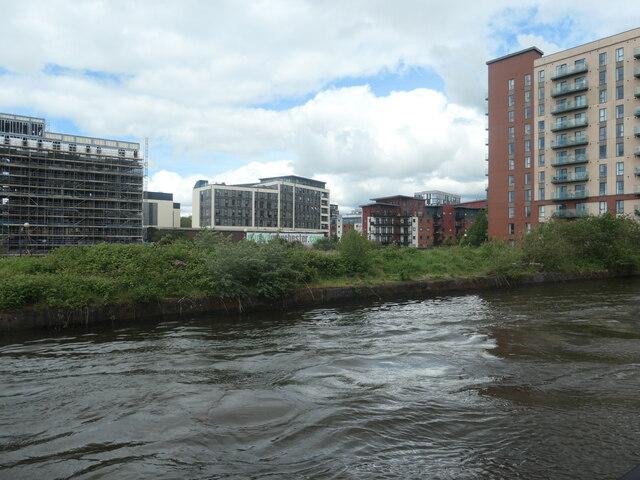 Development along the Manchester Ship Canal