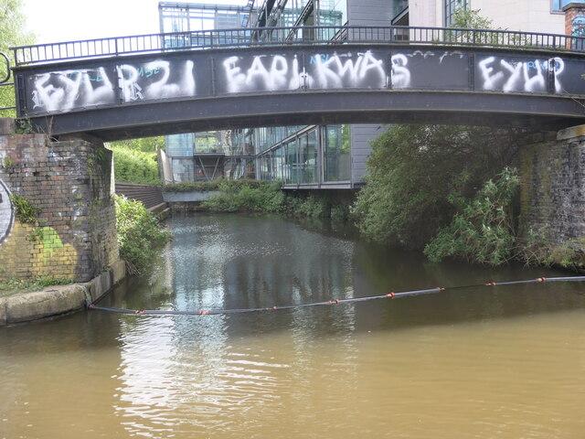 Private canal basin, west of Egerton Road bridge [no 100]