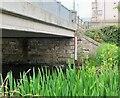 NT2540 : Depth gauge, March Street bridge Peebles by Jim Barton