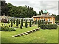 SP1731 : Persian garden at Sezincote House by Richard Humphrey