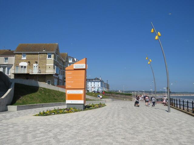 Bridlington seafront