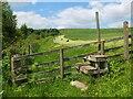 NT6217 : Fieldside path and Borders Abbeys Way by Jim Barton