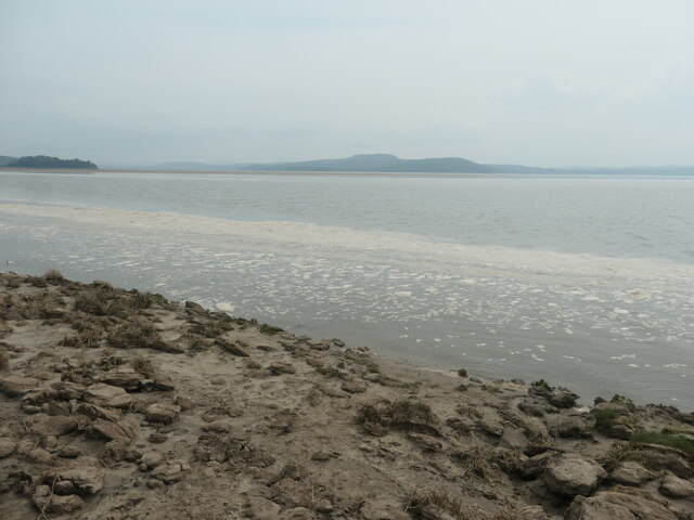 Sea foam, Grange-over-Sands