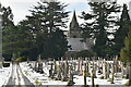 TQ5937 : Chapel, Kent & Sussex Cemetery by N Chadwick