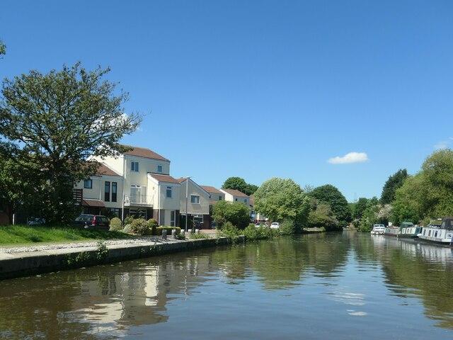 Marina village, Bridgewater canal