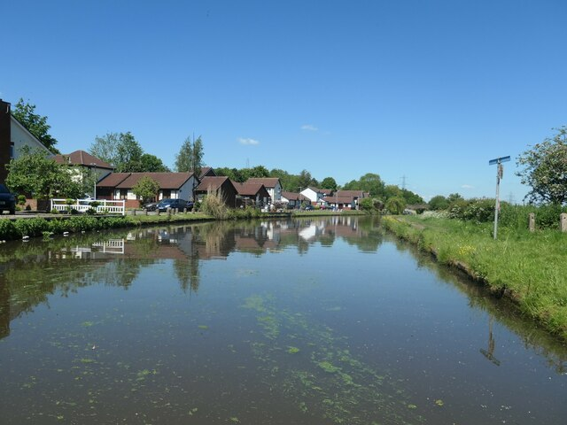 Bridgewater canal, between bridges 68 and 69