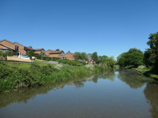 Bridgewater canal near Wolverton Drive, Norton