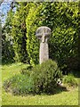 SX1183 : Old Wayside Cross in Tregoodwell, Camelford by L Nott