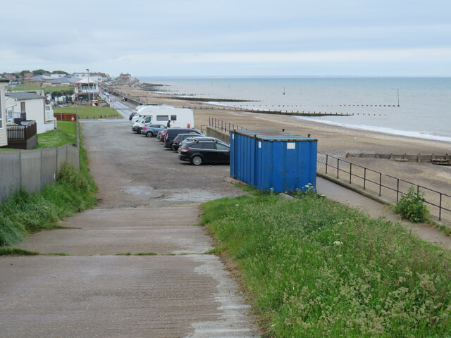Seafront at Hornsea