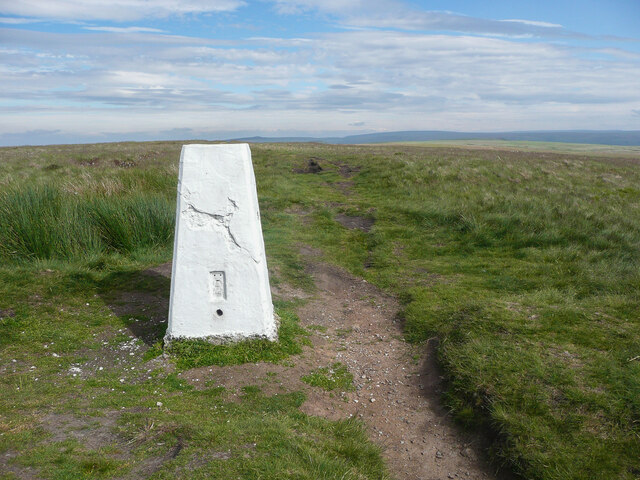 The summit of White Hill, Milnrow