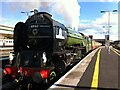 SX9193 : 'Tornado' with the Torbay Express at Exeter St. David's station by Alan Paxton